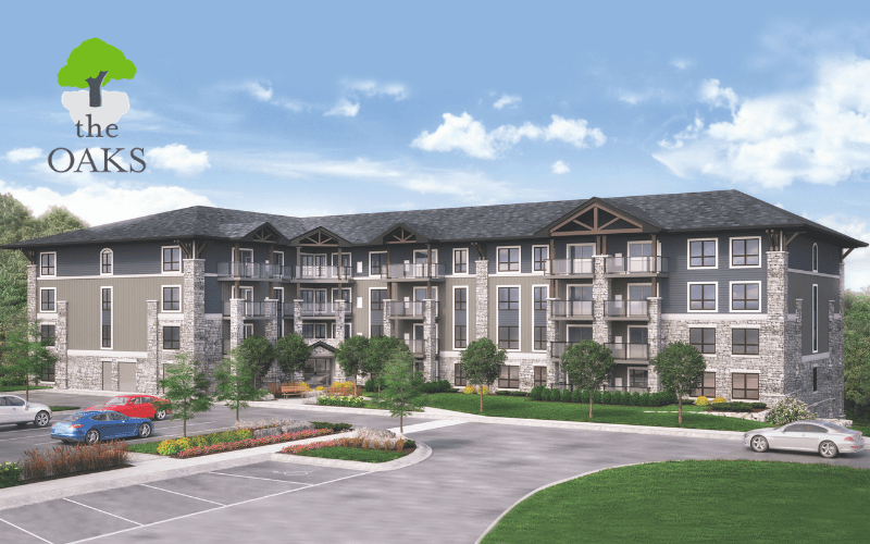 The Oaks Condominiums in Kitchener