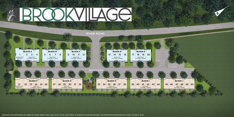 Brook Village Site Plan